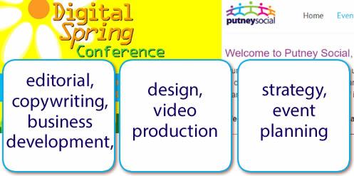 Putney Social & Grafform, content editing