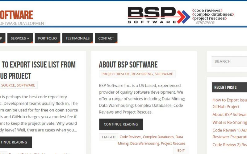 BSP Software