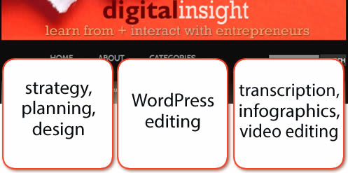 Digital Insight, content creation and editing