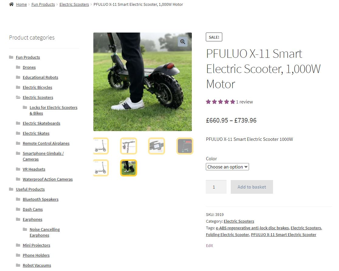Electric Scooters in Fun and Useful Gadgets